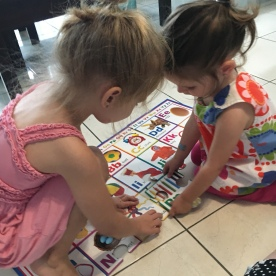 Working on ABC puzzle