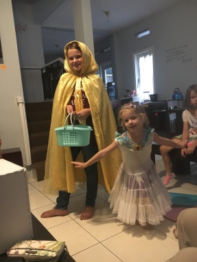 Dressed up darlings!