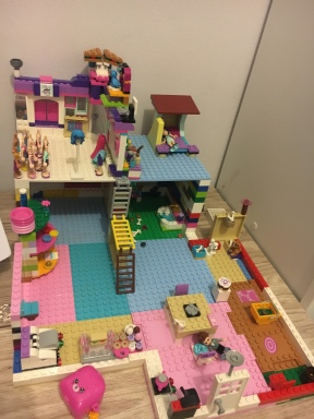 One of their Lego creations.