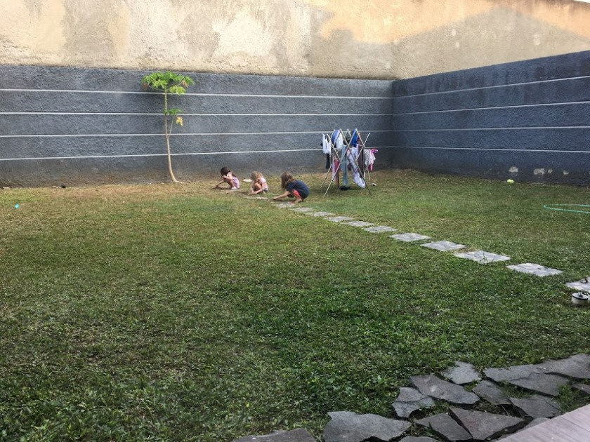 Teja backyard