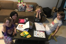 Coloring, coloring, and more coloring!