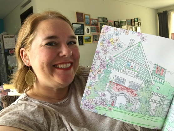 Doesn't everyone have an Anne of Green Gables colouring book?