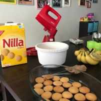 Nilla Wafers from Malaysia, Vanilla Pudding from Singapore, Bananas from Indo